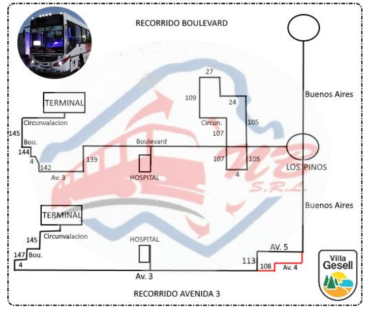 nuevo bus boulevard y av 3